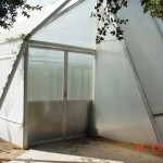Smartfarming greenhouse entrance
