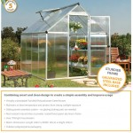 twinwall glazing, greenhouse